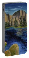 Merced River, Yosemite Park Portable Battery Charger