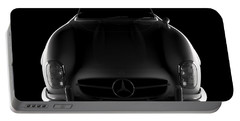 Mercedes 300 Sl Roadster - Front View Portable Battery Charger