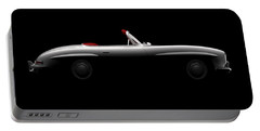 Mercedes 300 Sl Roadster - Side View Portable Battery Charger