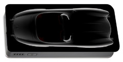 Mercedes 300 Sl Roadster - Top View Portable Battery Charger