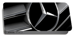 Mercedes Badge Portable Battery Charger