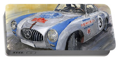 Mercedes Benz 300 Sl 1952 Carrera Panamericana Mexico  Portable Battery Charger