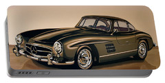 Mercedes Benz 300 Sl 1954 Painting Portable Battery Charger