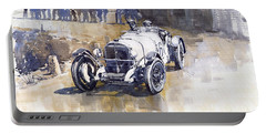 Mercedes Benz Ssk 1930 Rudolf Caracciola Portable Battery Charger