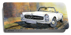 Mercedes Benz W113 280 Sl Pagoda Front Portable Battery Charger