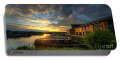 Portable Battery Charger featuring the photograph Mercia Marina 10.0 by Yhun Suarez