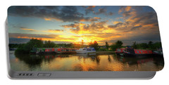 Portable Battery Charger featuring the photograph Mercia Marina 11.0 by Yhun Suarez