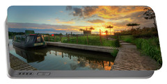 Portable Battery Charger featuring the photograph Mercia Marina 13.0 by Yhun Suarez