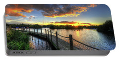 Portable Battery Charger featuring the photograph Mercia Marina 18.0 by Yhun Suarez