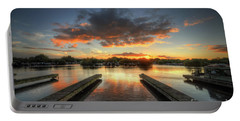 Portable Battery Charger featuring the photograph Mercia Marina 19.0 by Yhun Suarez