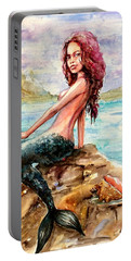Mermaid 4 Portable Battery Charger