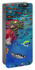 Mermaid In Paradise Complete Underwater Descent Portable Battery Charger