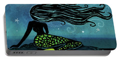 Mermaid Song Portable Battery Charger
