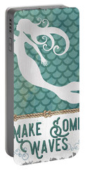 Mermaid Waves 1 Portable Battery Charger