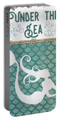 Mermaid Waves 2 Portable Battery Charger