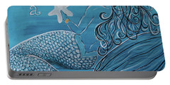 Mermaid- Wish Upon A Starfish Portable Battery Charger