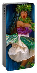 Merrie Monarch Hula Portable Battery Charger