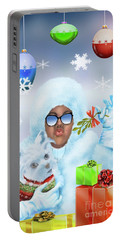 Merry Christmas And Kisses Portable Battery Charger