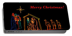 Portable Battery Charger featuring the photograph Merry Christmas by Penny Lisowski