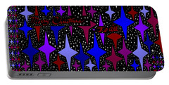 Merry Christmas To All, Starry, Starry Night Portable Battery Charger