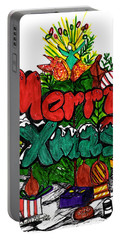 Merry Xmas Portable Battery Charger