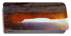 Mesa Arch, Canyonlands, Utah Portable Battery Charger
