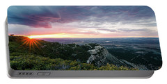 Mesa Verde Sunset Portable Battery Charger
