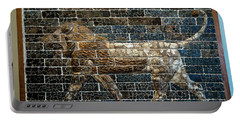 Mesopotamian Lion Portable Battery Charger