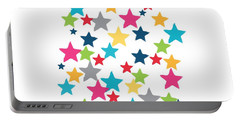 Messy Stars- Shirt Portable Battery Charger