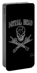 Metal Head Portable Battery Charger