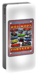 Metal Hot Rods Forever Portable Battery Charger