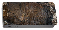 Metamorphic Geologic Wall In Kings Canyon Giant Sequoia National Monument Sequoia National Forest Portable Battery Charger