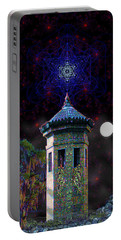 Metatron Nocturnal Portable Battery Charger by Iowan Stone-Flowers