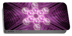 Metatron's Cube Atomic Portable Battery Charger