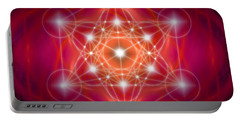 Metatron's Cube Female Energy Portable Battery Charger