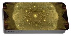 Metatron's Cube Geometric Portable Battery Charger