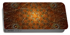 Metatron's Cube Inflower Of Life Portable Battery Charger