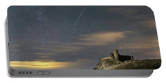Meteors Above The Fortress Portable Battery Charger