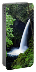 Metlako Falls Waterfall Art By Kaylyn Franks Portable Battery Charger