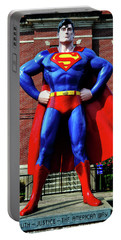 Metropolis - Home Of Superman 001 Portable Battery Charger