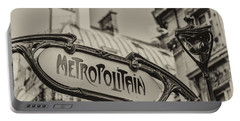 Metropolitain Portable Battery Charger