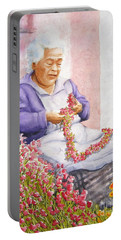 Mexican Flower Portable Battery Charger