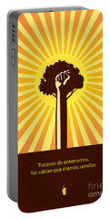 Mexican Proverb Portable Battery Charger by Sassan Filsoof