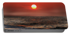 Mexico Beach Sunrise Portable Battery Charger