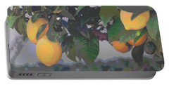 Meyer Lemons - Posterized Portable Battery Charger