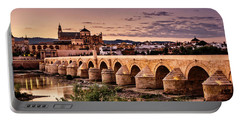 Mezquita In The Evening Portable Battery Charger by Marion McCristall