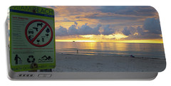 Miami Beach Sunrise Portable Battery Charger