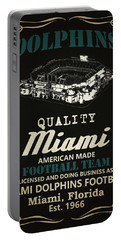 Miami Dolphins Whiskey Portable Battery Charger
