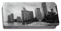 Miami Skyline Portable Battery Charger