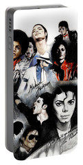 Michael Jackson - King Of Pop Portable Battery Charger